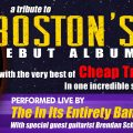 Boston's Debut Album and Cheap Trick