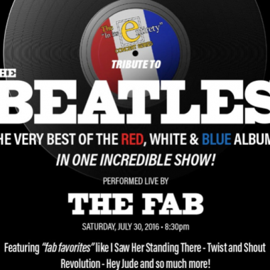 IN ITS ENTIRETY: A Tribute to Beatles Red, White and Blue